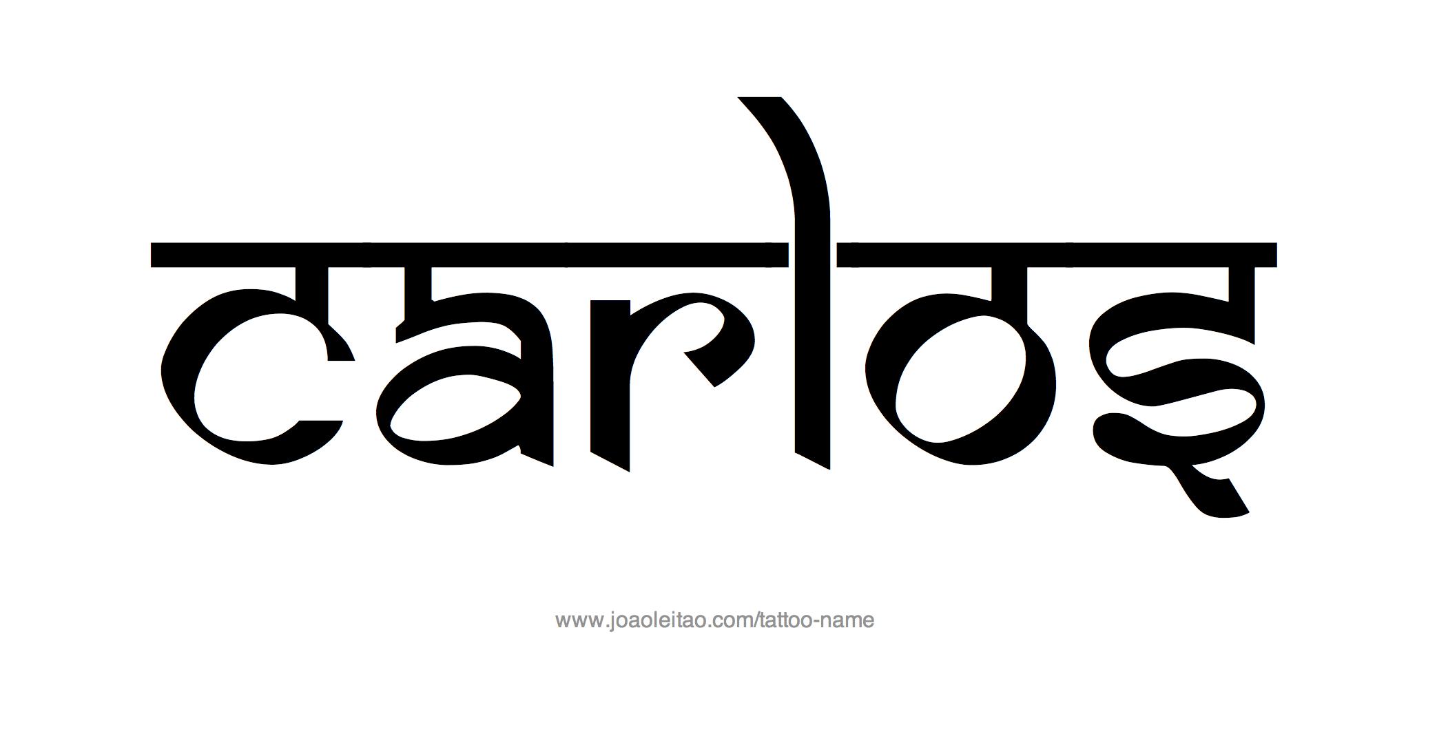 Carlos Name Tattoo Designs Name Tattoos Name Tattoo Designs Name Tattoo