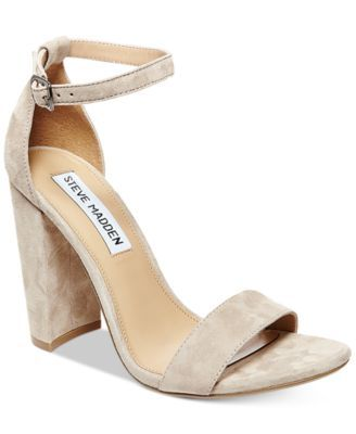 63324d6c2f3 Steve Madden Women s Carrson Ankle-Strap Dress Sandals
