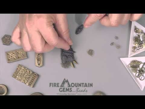 Creating a Bohemian Steampunk Pendant - Fire Mountain Gems and Beads
