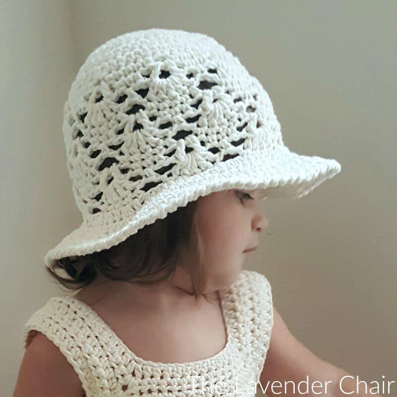 Vintage Sun Hat (Infant – Child) Crochet Pattern | crochet kids ...