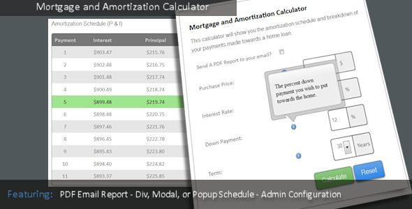 Mortgage And Amortization Calculator  HttpWareznulledCom