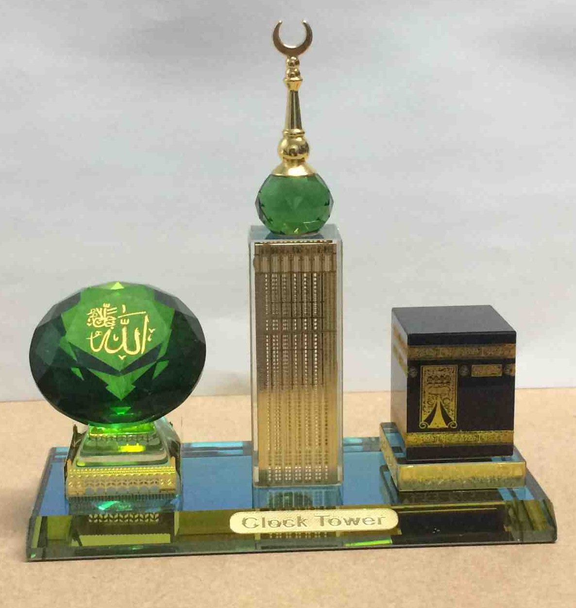 Islam eBay Collectables Clock tower, Eid gifts, Crystal