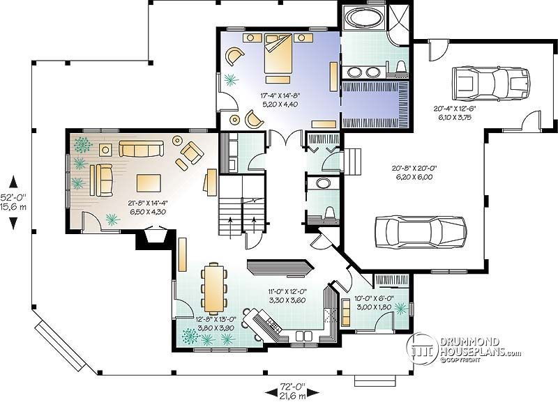 Pin By T Knudsen On Dream Home Luxury House Plans Country Style House Plans Farmhouse Floor Plans