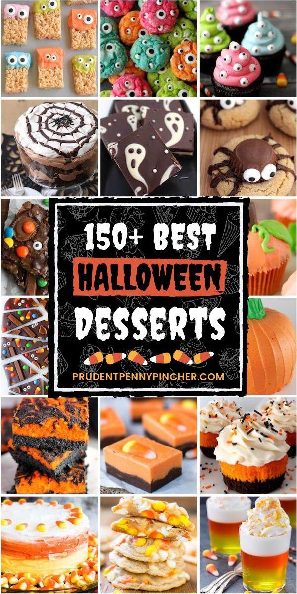 Photo of 150 Best Halloween Desserts