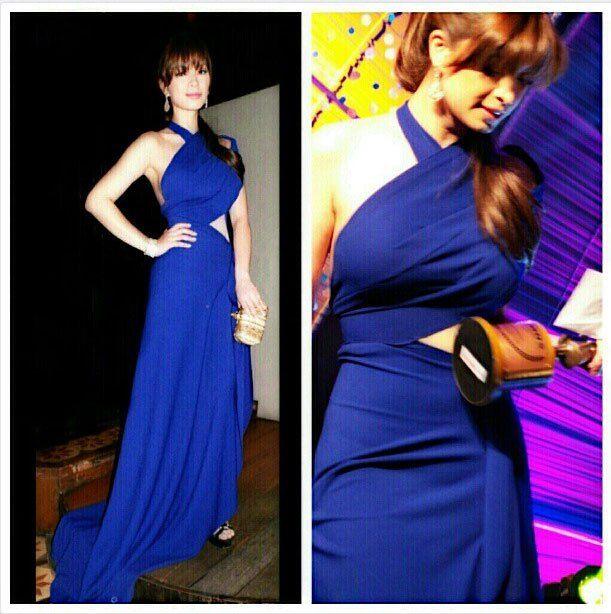BLue Dress i love to wear :)