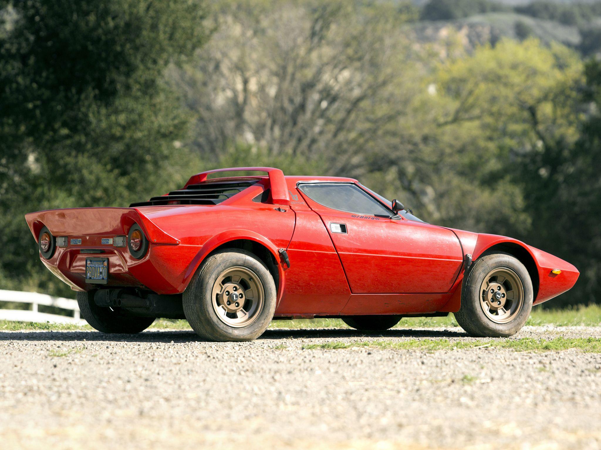 1973–75 Lancia Stratos HF | Fantasy Garage | Pinterest | Cars, Rally ...