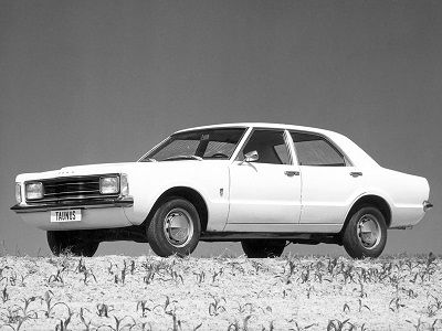 Ford Taunus 4 Door Sedan 1973 1974