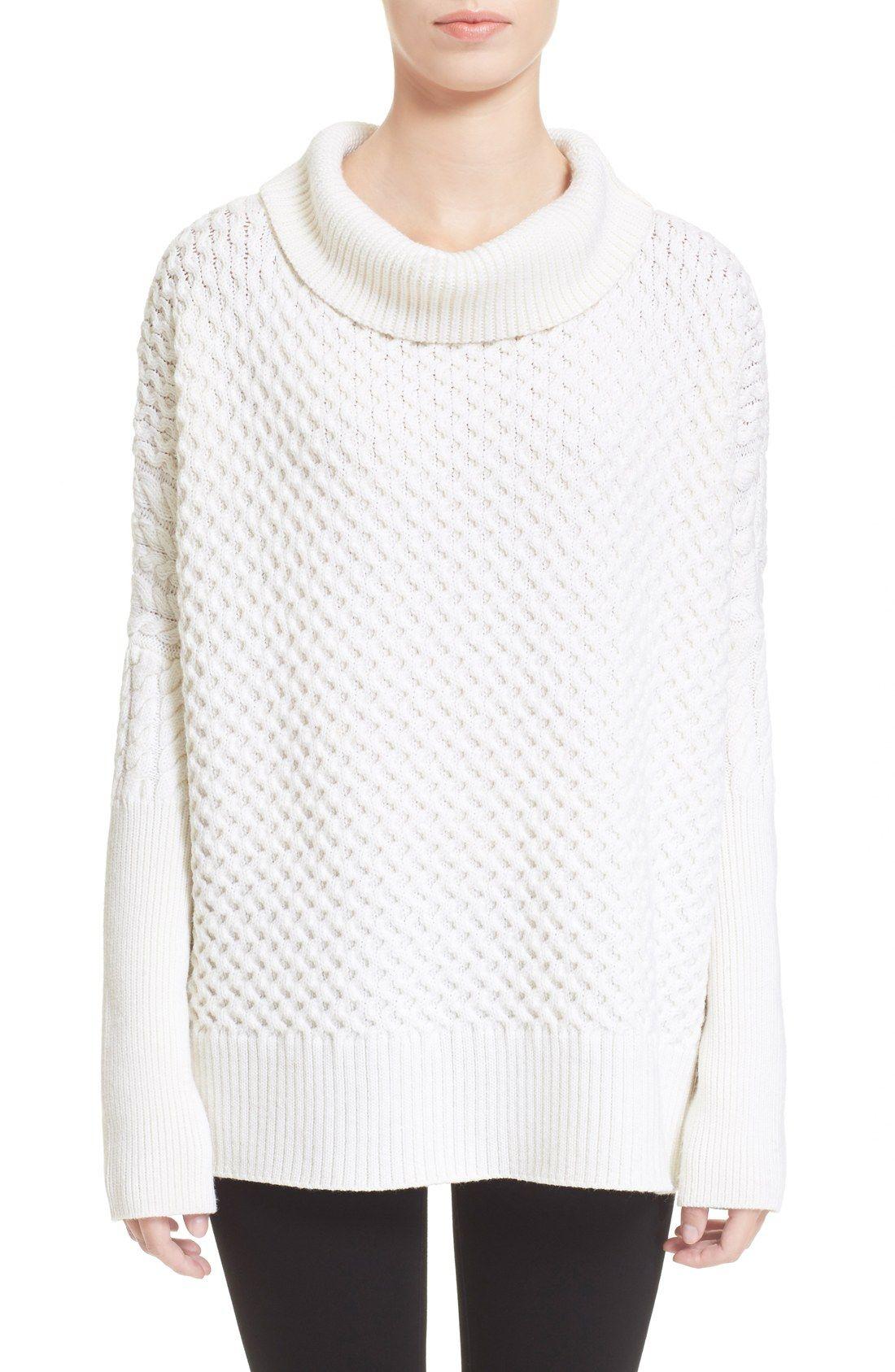 AYR 'Le Square' Merino Wool Cowl Neck Sweater | Wishful Thinking ...