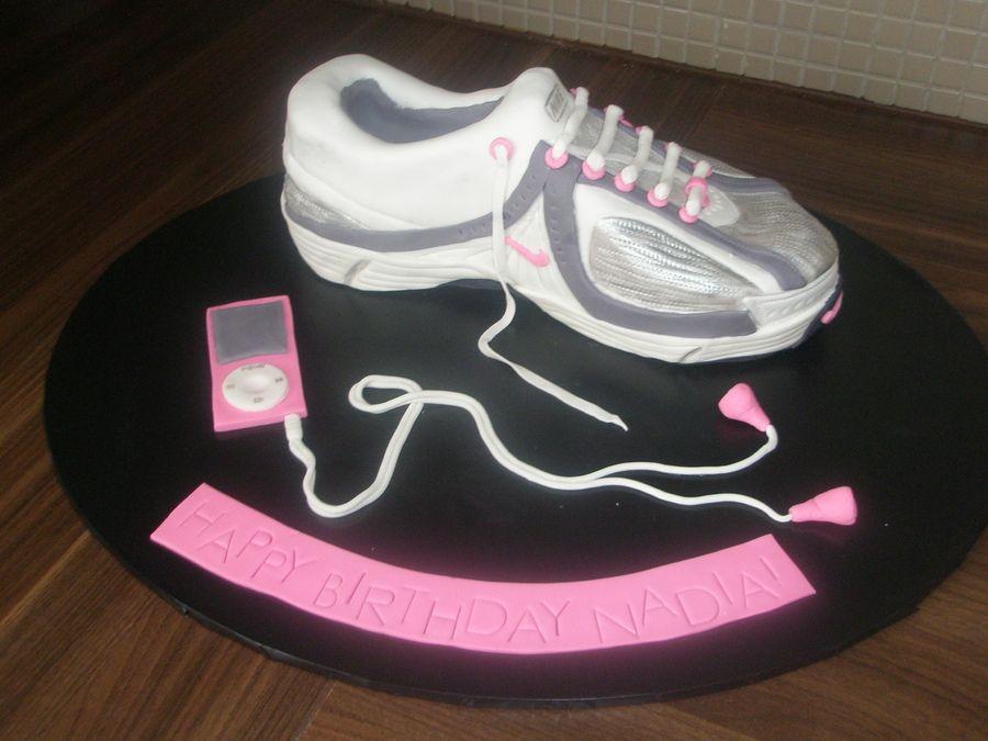 Running Shoe Cake My Birthday Cakes Pinterest