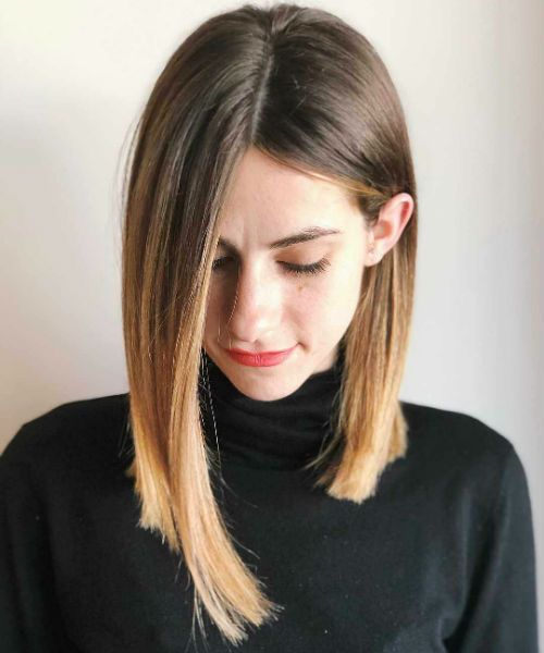 Most Wanted Long Bob Hairstyles 2020 For Professional Women Not To Miss Out Messy Hairstyle Long Bob Hairstyles Angled Bob Hairstyles Long Bob Haircuts