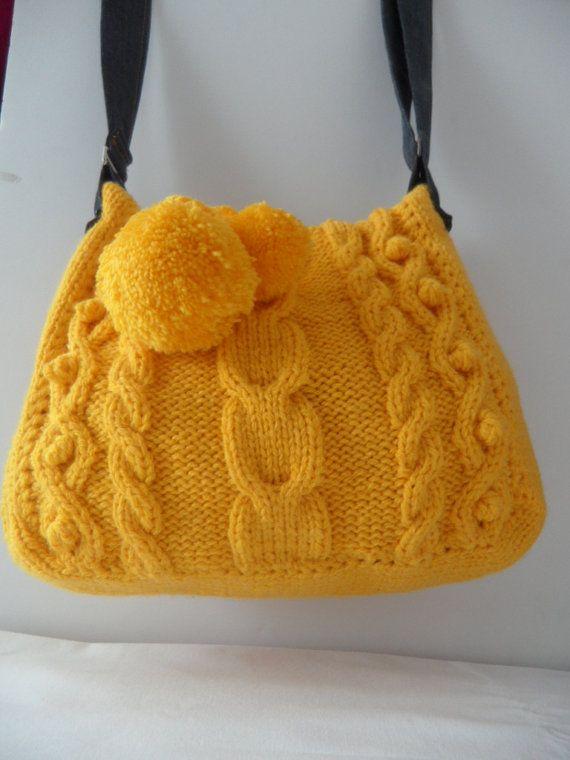 Dvě jehly tkané tašky - Imagui | ♥ Bags ♥ croched knit | Pinterest ...