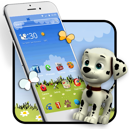 Download this cute snoopy theme if you like cartoons