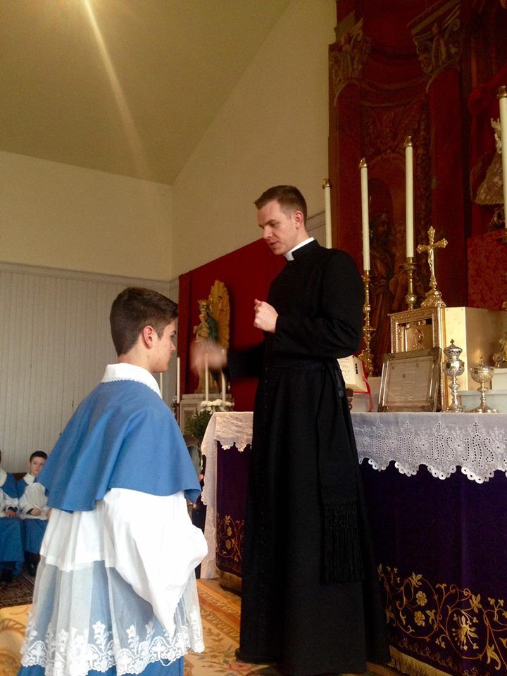 Shrine Of Christ The King Sovereign Priest Altar Boy Practice Catholic Altar Catholic Kids Catholic