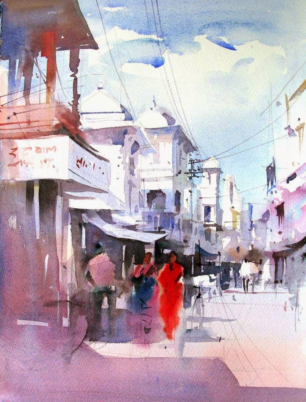 Watercolor artist websites - Find This Pin And More On Milind Mulick And Others Some Watercolor Beauty