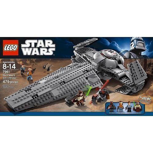 Amazon.com: LEGO Star Wars Darth Maul's Sith Infiltrator 7961: Toys ...