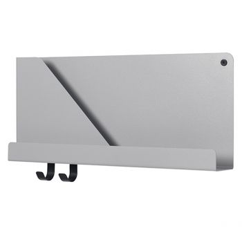 Muuto's Folded shelf, grey, small