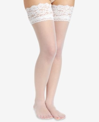 c54304dec Berkshire Women s French Lace Top Thigh High Hosiery 1363 - Black in ...