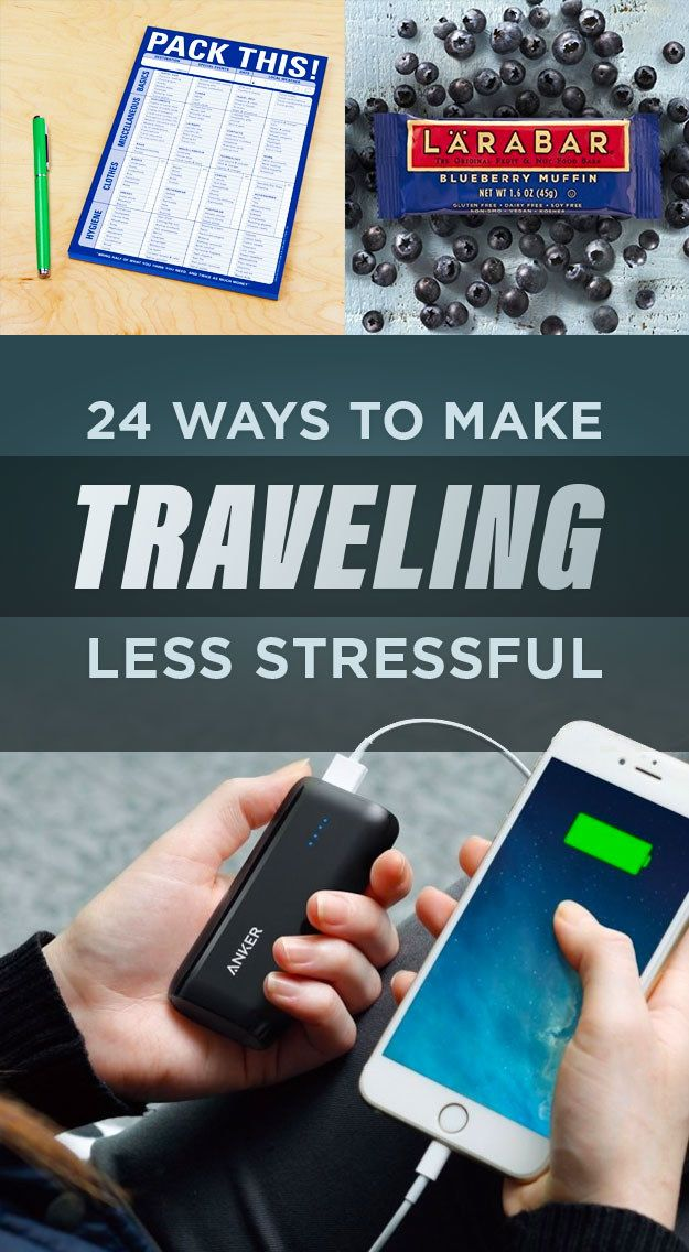24 Ways To Make Traveling So Much Less Stressful   Travel