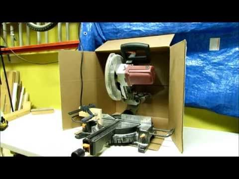 Cheapest diy dust collection for the miter saw youtube miter cheapest diy dust collection for the miter saw youtube solutioingenieria Images