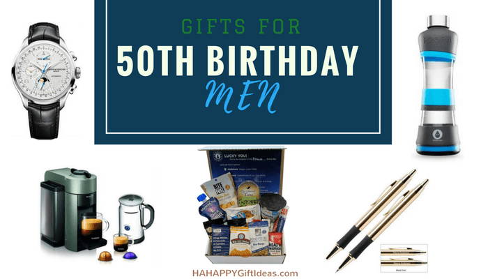 Gifts For A 50 Year Old Man 50th Birthday Ideas Men