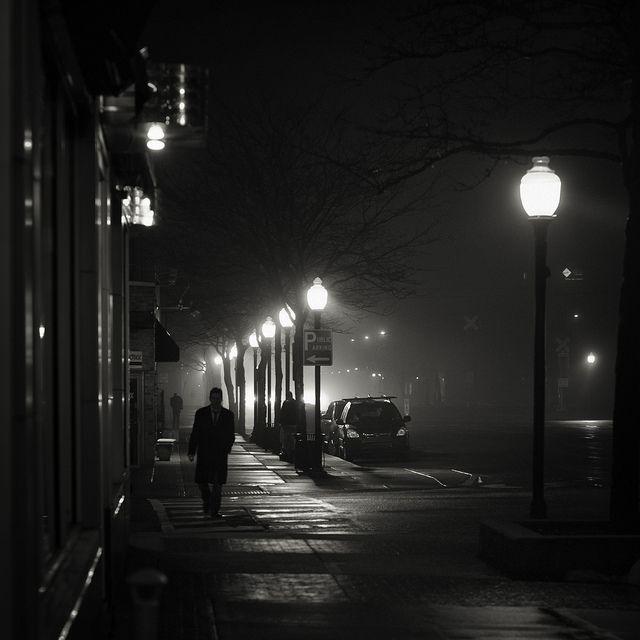 B&W Photo By Brian Day. I Love This One, It's So Film Noir