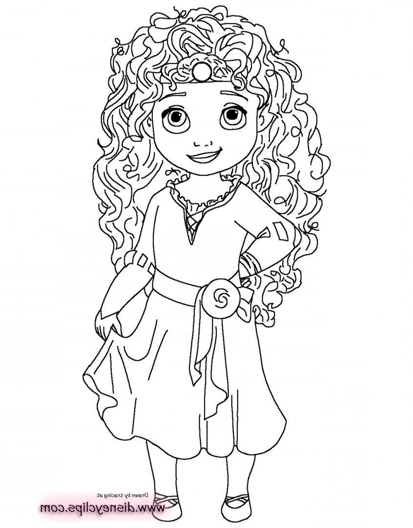 Disney Princesses Coloring Pages Luxury Coloring Baby Disney