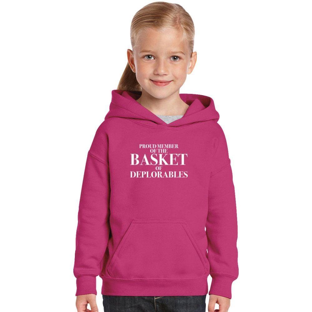 Proud Member Of The Basket Of Deplorable Kids Hoodie