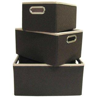 Brown Felt Fabric Storage Box Set | Shop Hobby Lobby