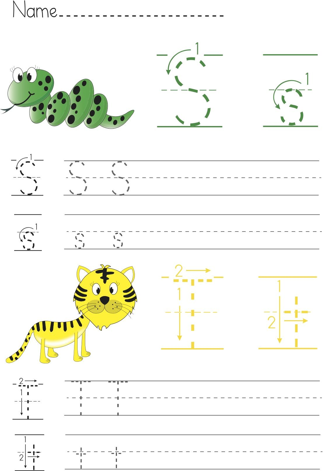Writing Abcs Practice For Children