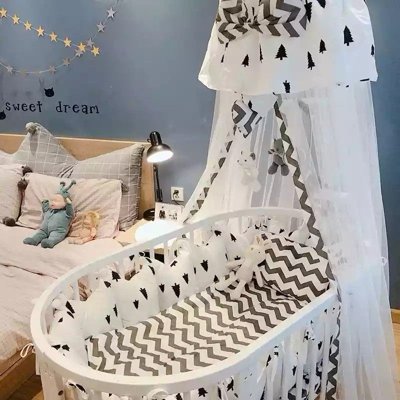 Best Selling Most Hot Beautiful Round Wooden Baby Cribs Wholesale Prince Baby Cribs China Factory Direct Baby Cot Q Baby Cot Bedding Wooden Baby Crib Baby Bed