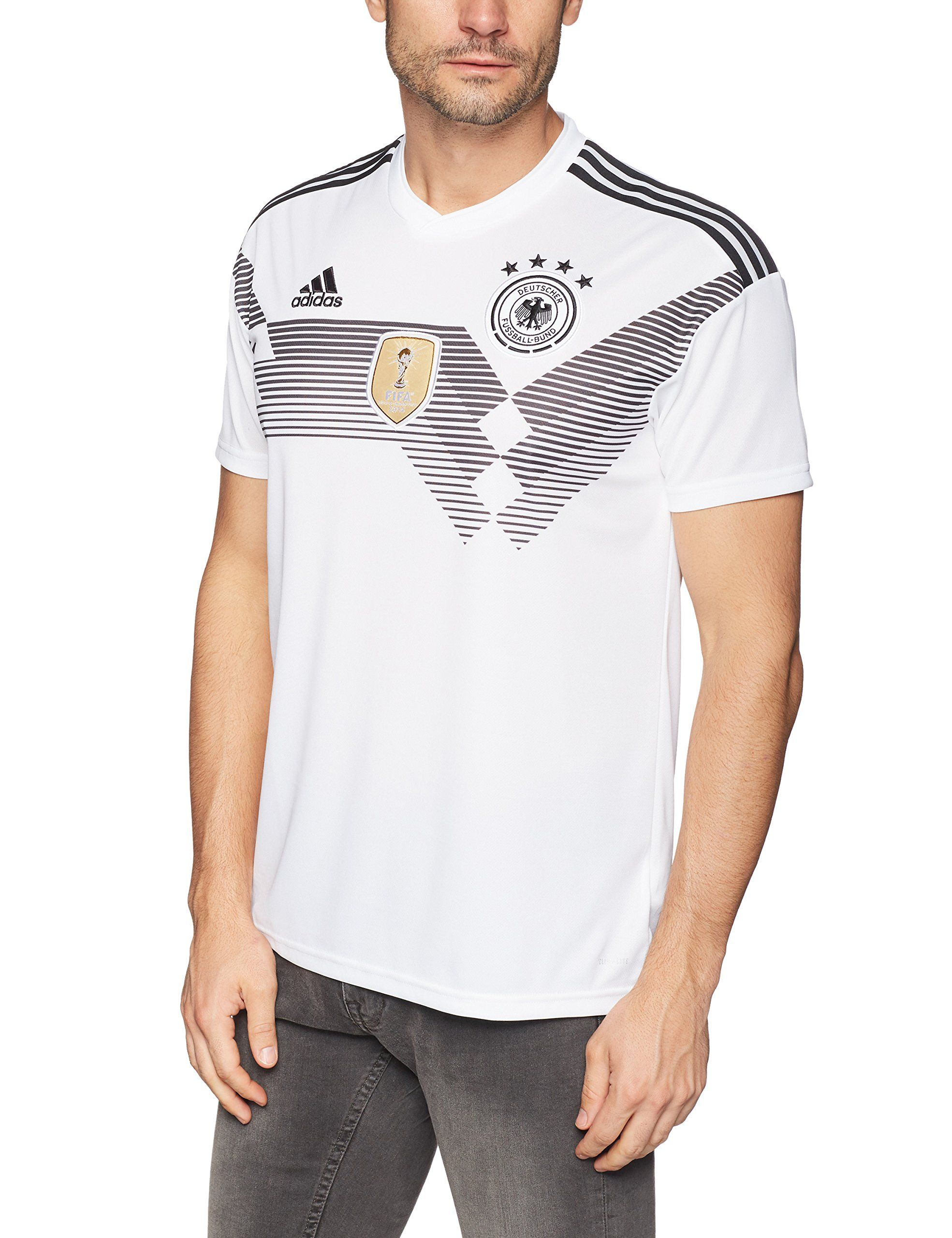 Adidas Germany Home Shirt 2017 19small Adults Take A Look At This Fantastic Product This Is An Affiliate Link Futbol Mens Tops Mens Tshirts Shirts