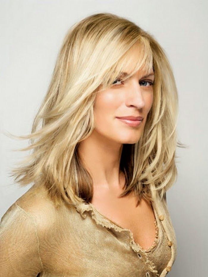 Long Hairstyles For Women Over 40 With Fine Hair In Choosing A Hairstyle Is Beautiful And Graceful It Is Som Hair Styles Long Hair Styles Medium Hair Styles