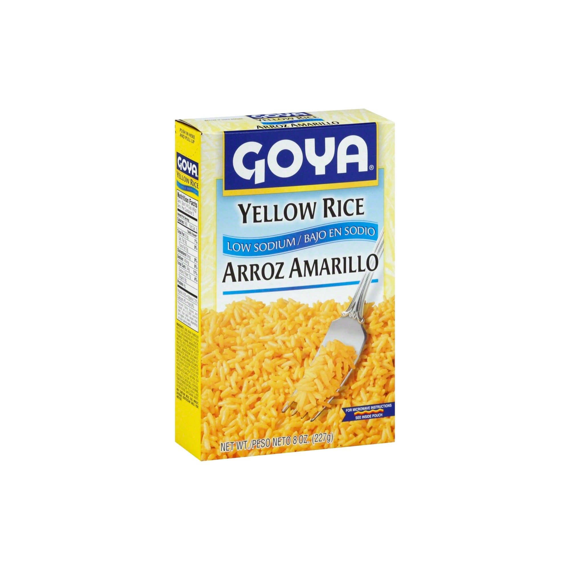 Goya Low Sodium Yellow Rice 8 Oz