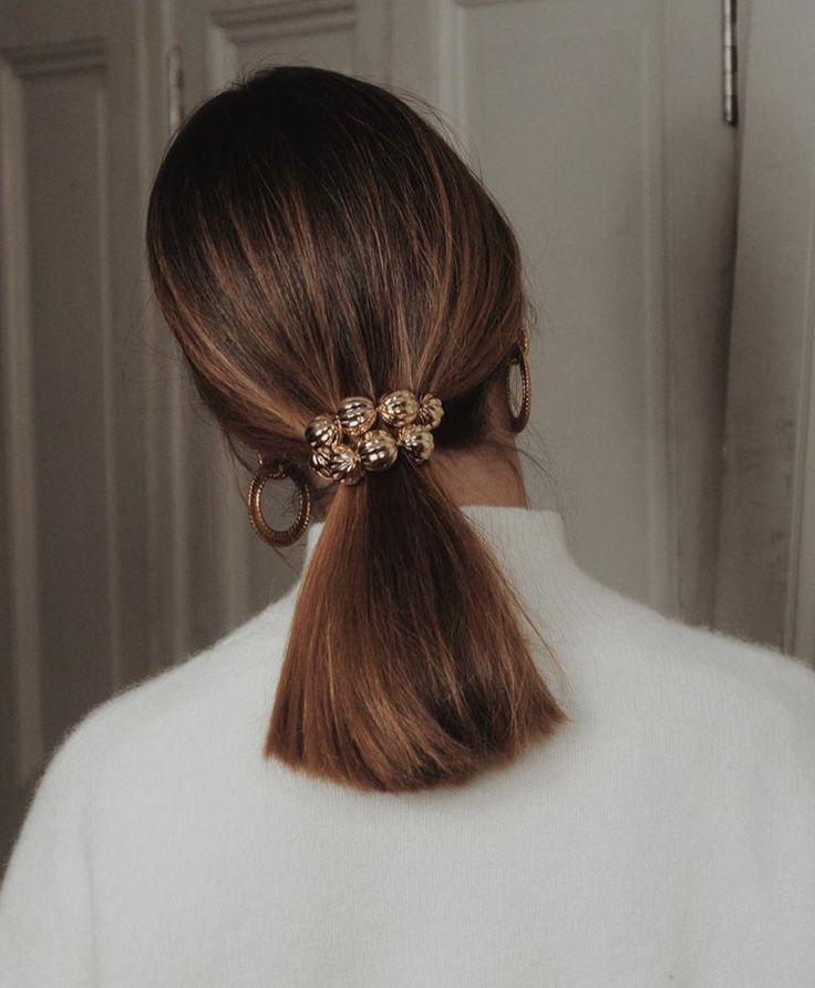 sleek pony #hairscrunchie