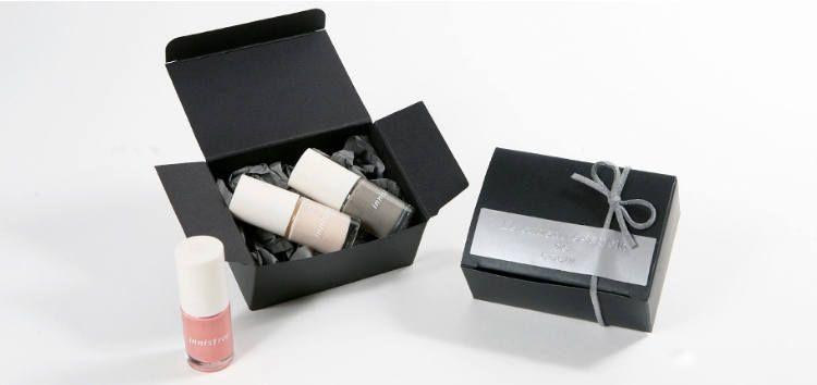 5 Black Mini Rectangle Box Black Favor Box Small Box Black Gift Box