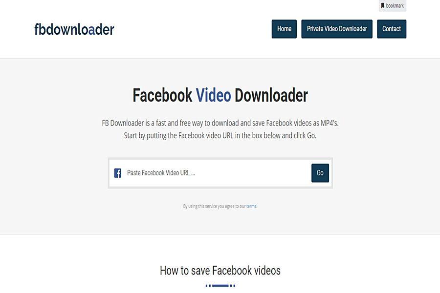 أفضل 10 مواقع لتحميل الفيديوهات من الفيسبوك بدون برامج Facebook Video Best Facebook Facebook