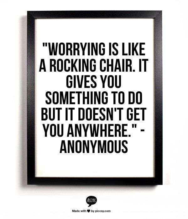 Quotes About Worrying Magnificent 7 Quotes That Prove Worrying Is Useless  Stressed Quotes Google . Inspiration