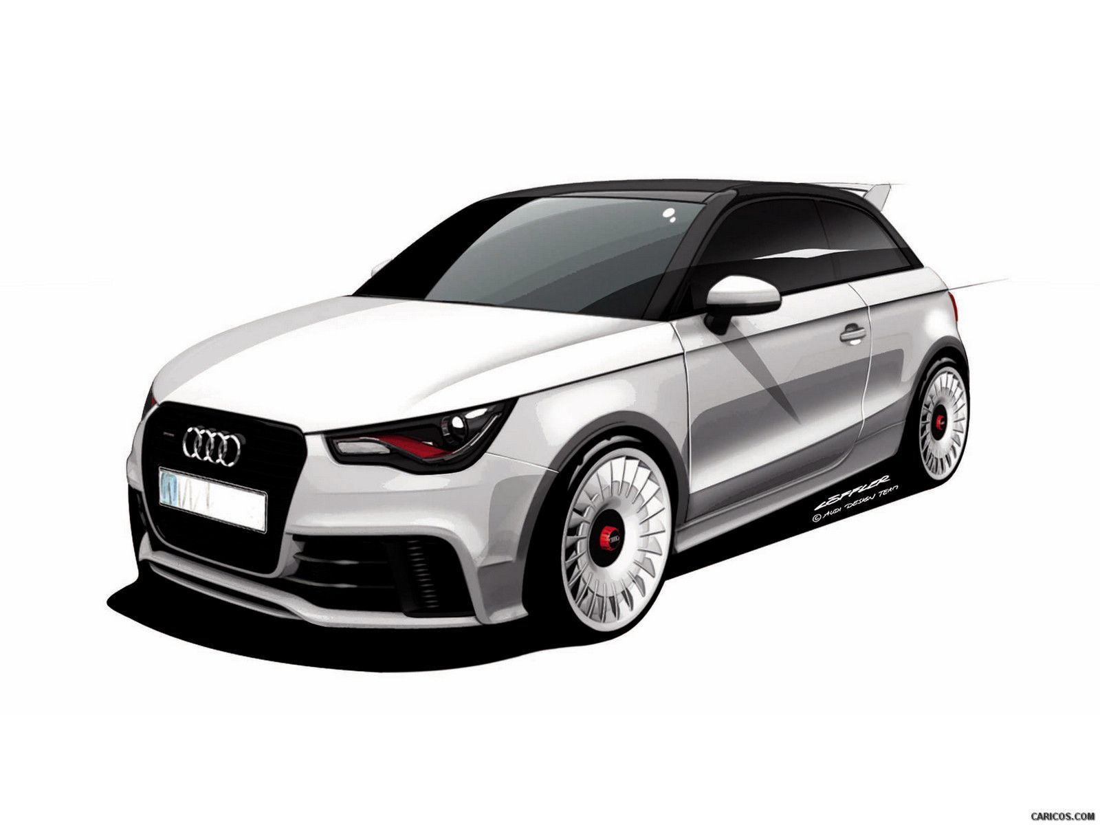 2012 Audi A1 Quattro Wallpaper