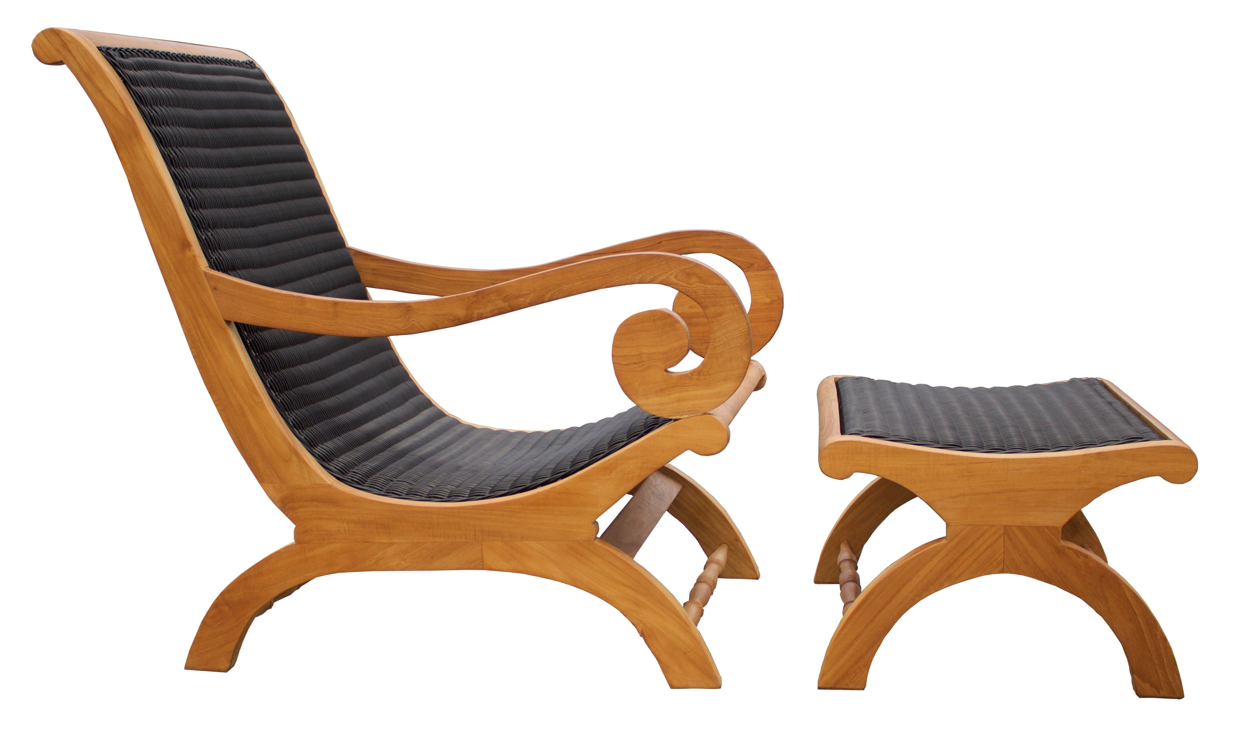 chic teak furniture. Kenya Lazy Chair Incl. Footstool By Chic Teak Only $726.18 Furniture