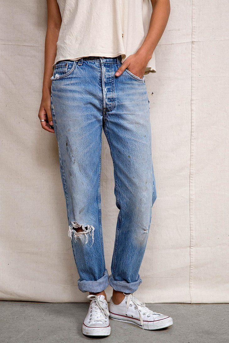 Urban Renewal Vintage Levi's 505 & 501 Jean - Urban Outfitters