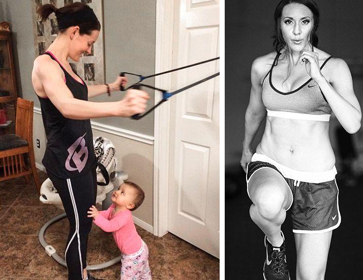 Transformation Follow Up Fitness Model Fit Mom Fitness Model Fit Mom Gym Program