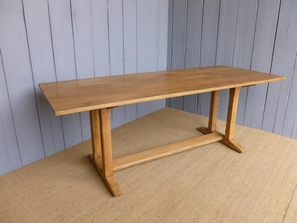 Reclaimed Solid Oak Antique Refectory Dining Table