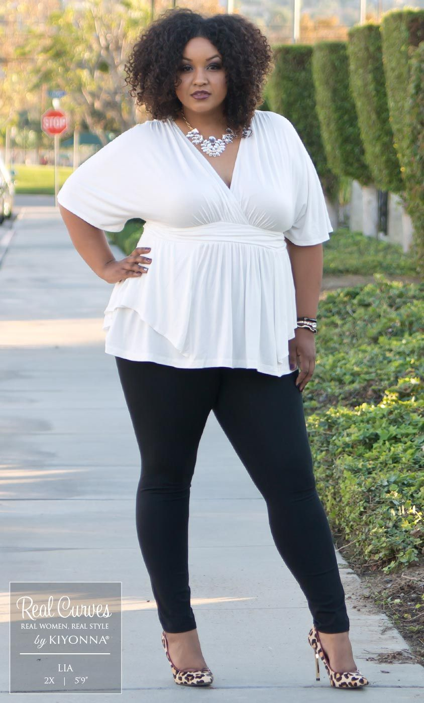 Real Curve Cutie Lia (59 and a size 2x) is fierce in our