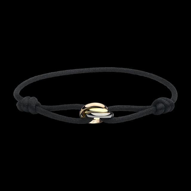 Bracelet cordon trinity