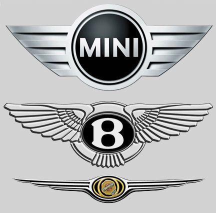 крайслер с логотипом бентли