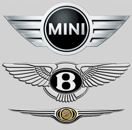 Mini Bentley Chrysler Similar Very Similar Logos