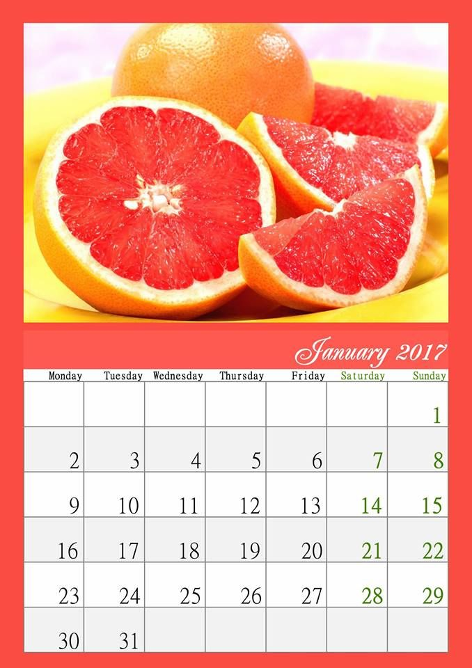 Start a new year with a bright handmade calendar! Get the hang of - how to create your own calendar