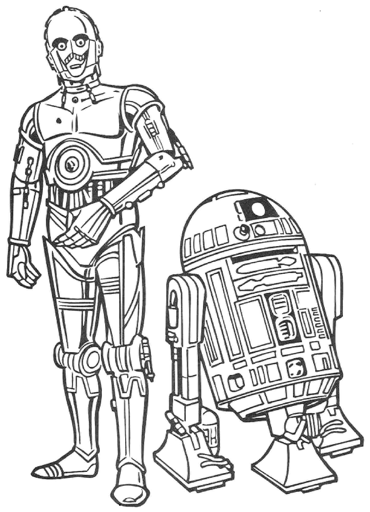 Impressionnant Dessin à Colorier Vaisseau Star Wars