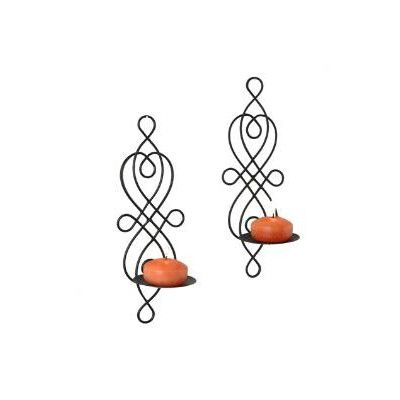 Danyab Wire Twisted Candle Sconce Set Wayfair