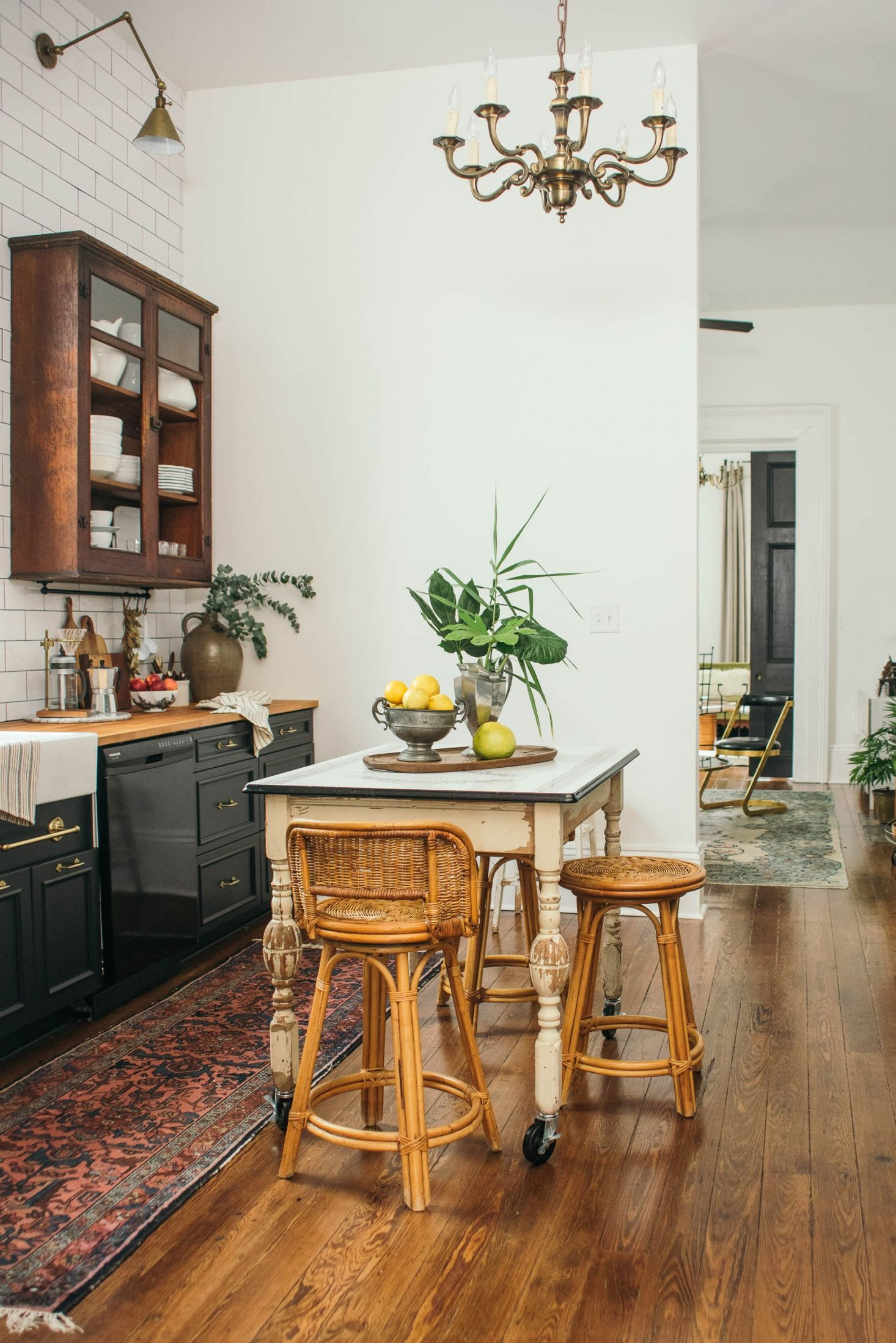 The new southern gothic a rehabbed shotgun house in new orleans parlour dailygadgetfo Images